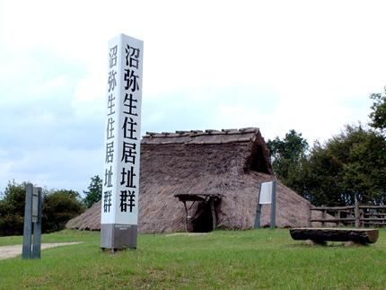 沼の弥生住居跡